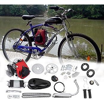 Amazon com: 49CC 4-Stroke Gas Petrol Motorized Bike Bicycle
