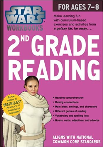 Star Wars Workbook: 2nd Grade Reading (Star Wars Workbooks ...