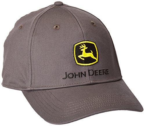 John Deere - Banda elástica para Hombre con Logotipo Bordado, Carbón, Talla única