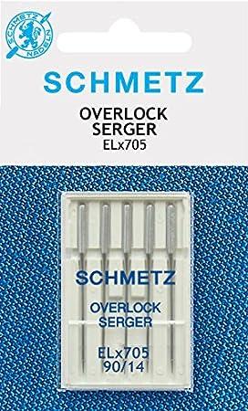 Schmetz EL70590 - Aguja para máquina de coser: Amazon.es: Hogar
