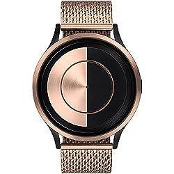 ZIIIRO Lunar Unisex Watches Rose Gold