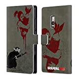 Official Brandalised Rat Banksy Art Street Vandals Leather Book Wallet Case Cover For OnePlus 2 / Two
