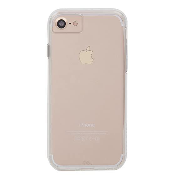 official photos b9c84 15b9f Case-Mate iPhone 8 Case - NAKED TOUGH - Clear - Ultra Slim - Protective  Design for Apple iPhone 8 - Clear