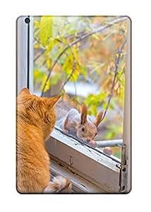 HansenLiuy Premium Protective Hard Case For Ipad Mini/mini 2- Nice Design - Cat