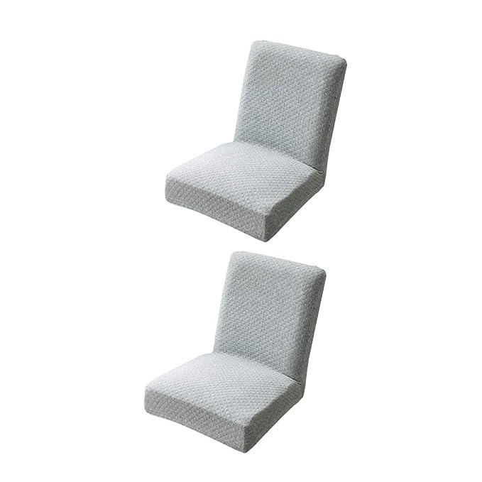 Weiß Homyl Stretche Stuhlhussen Stuhlüberzug Stuhlbezug