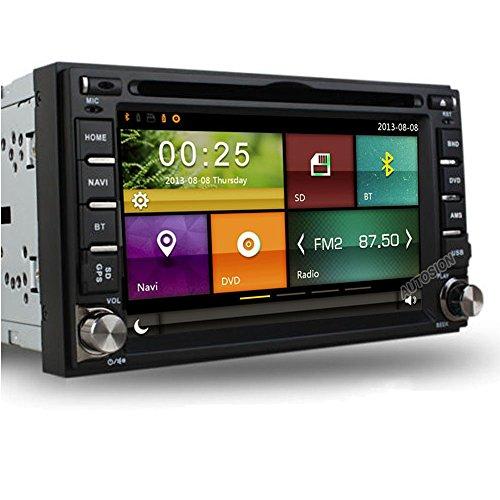 Autosion for Nissan Frontier/Nissan Pathfinder/Nissan Versa/Nissan Murano/Nissan 350z / Nissan Sentra/Nissan Nv200 Car DVD GPS Navigation Bluetooth,Radio Steering Wheel Control