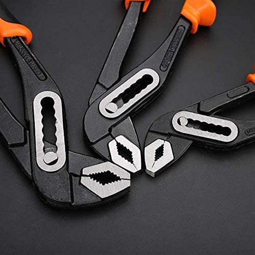 YASE-king Water Pump Pliers Pipe Wrench Plumbing Combination Pliers Universal Wrench Grip Pipe Plumber Hand Tool Pincers Tool