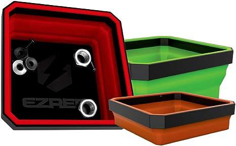 Ezred Ezr Bck18 Eztray Collapsible Parts Tray Set Of 3 Home Improvement Amazon Com