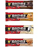 BSN Syntha-6 Protein Crisp 4 Flavor Variety 12 Pack