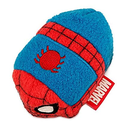 New Disney Store Mini 3.5 (S) Tsum Tsum Spider-Man Plush Doll (Marvel Collection) by Disney: Amazon.es: Juguetes y juegos