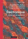Electronique Best Deals - ÉLECTRONIQUE : FONDEMENTS ET APPLICATIONS 2E ED.  AVEC 250 EXERCICES ET PROBLÈMES RÉSOLUS