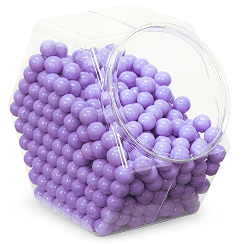 Sweetworks Confections Shimmer Lavender Sixlets Candy ()