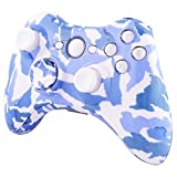 ModFreakz™ Shell/button Kit Hydro Dipped Collection Snow Blue Camouflage (NOT A CONTROLLER, For Xbox 360 Controllers) For Sale