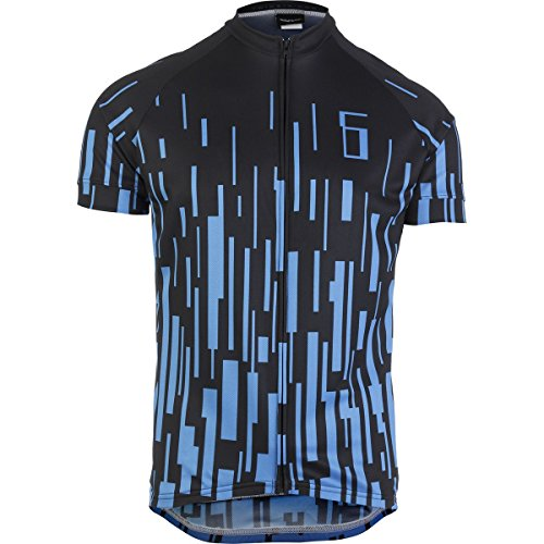 Twin Six Dash Jersey - Men's Cyan/Navy Blue, L (Twin Six Cycling Jersey compare prices)