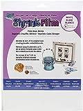 GRAFIX KSF6-WIJ Printable Shrink Film 8.5X11 6PC, 6-Pack, White