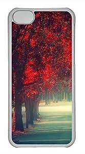 iPhone 5c case, Cute Walking Alone iPhone 5c Cover, iPhone 5c Cases, Hard Clear iPhone 5c Covers by lolosakes