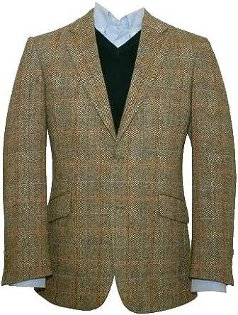 Chaqueta americana ligera de lana para hombre, de Harris