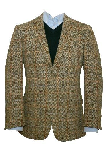 d09c3027f5d3 Harris Tweed Men s Jacket - Hamish (46R)  Amazon.co.uk  Clothing
