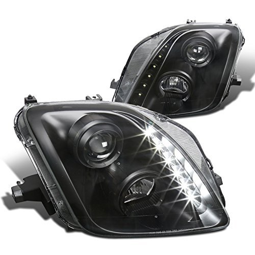 - Spec-D Tuning LHP-PL97JM-RS Black Projector Headlight
