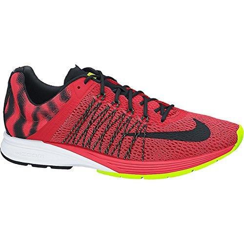 Nike Zoom Streak 5 Laser Cramoisi / Noir / Volt Chaussures De Course Pour Hommes Taille 11