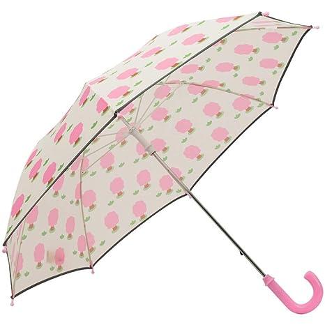 Paraguas Rosa para Niña, Asa Larga A Prueba De Viento, para ...