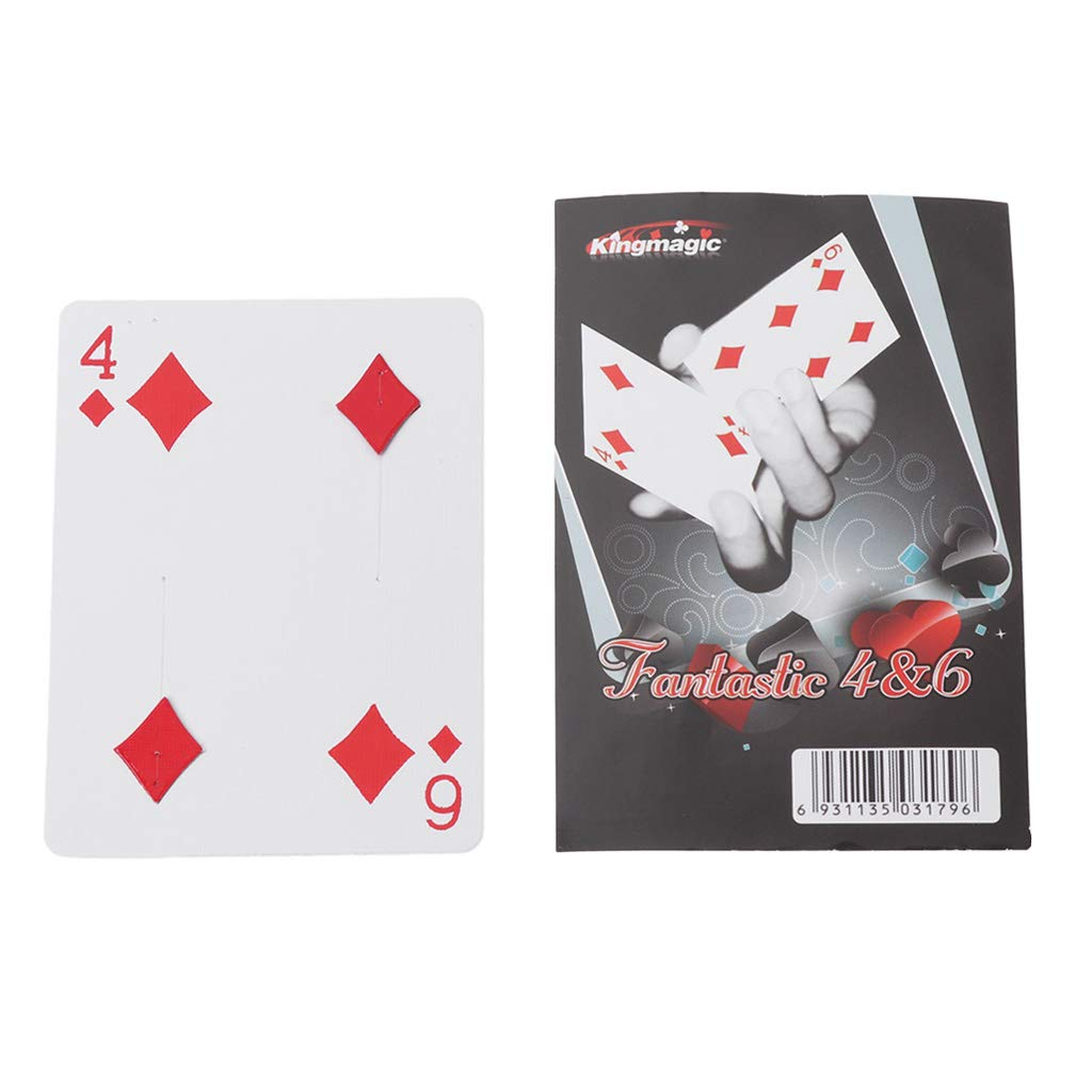 Lamdoo Innovate fantastico da 4 a 6 Moving punto di trucchi di magia Gimmick giocattolo per bambini
