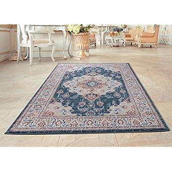Luxe Weavers Blue Oriental 8x10 Area Rug 7160