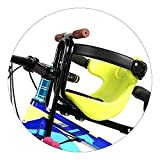 BleuMoo 1Pcs Mountain Bike Child Seat Portable Baby Seat Bicycle Seat for Age 3-5 Years Old (green)