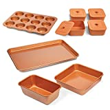 Copper Chef 12pc Bakeware Set Baking Pan Set Deal (Small Image)