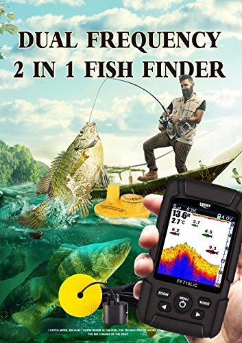 Dual Frequency Color Lcd Fishfinder (LUCKY FF718LiCD 2.8