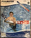 Poolmaster American Stars Swimming Pool Noodle, Red, White and Blue, July 4th