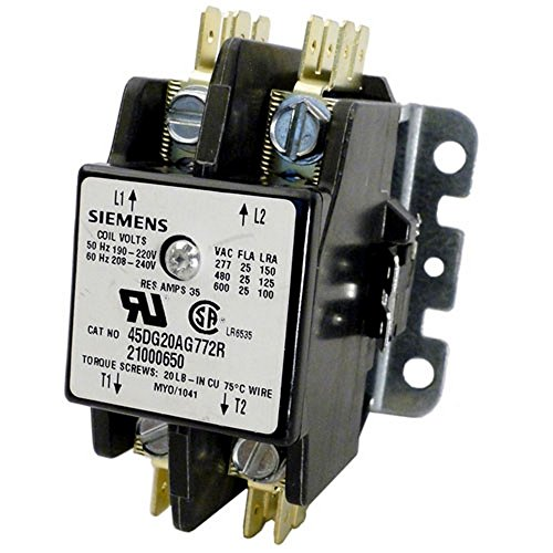 (Coates 35Amp 240V Coil Double Pole Contactor 21000650)