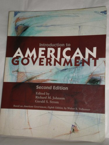 Introduction to American Goverment