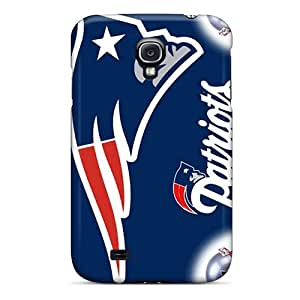 Fashion Tpu Case For Galaxy S4- New England Patriots Hd Defender Case Cover