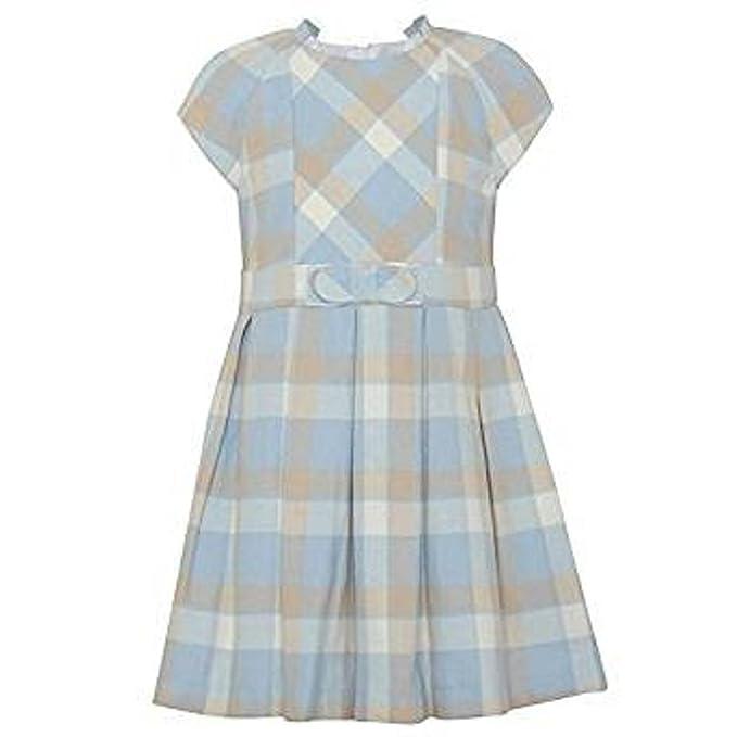 Mayoral Vestido de las niñas de cuadros escoceses en color azul azul azul 3 años
