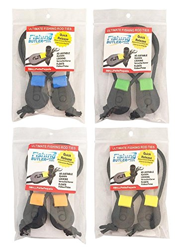 Fishing Butler Ultimate Fishing Rod Ties (pack of 4) (Discount Rod Tie)