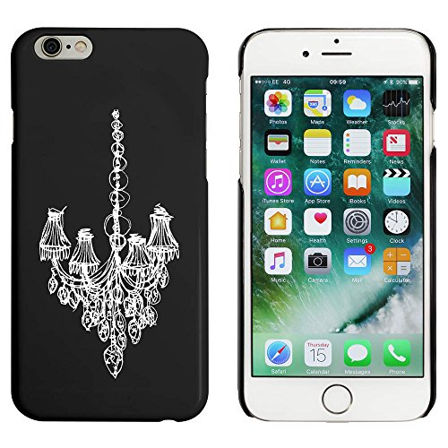 Schwarz 'Skizzierter Kronleuchter' Hülle für iPhone 6 u. 6s (MC00045577)