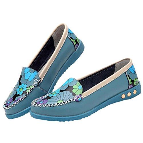 Blau MatchLife donna MatchLife Ballerine Style4 Ballerine 4Xqz0zx5
