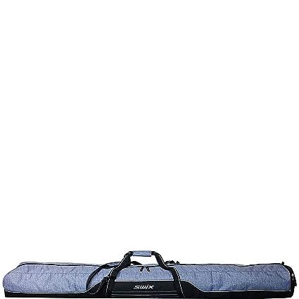 38ab93688b7a Amazon.com   Swix Road Trip Double Ski Bag (Grey Flannel)   Sports ...