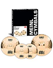 Meinl Cymbals CC-EM480 Matched Extreme Metal Cymbal Set: 14-Inch Hi Hat, 18-Inch Crash, 20-Inch Ride