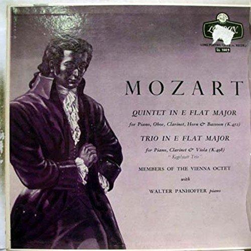 VIENNA OCTET PANHOFFER MOZART QUINTET & TRIO vinyl record