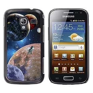 Planetarios robóticos Impresiones - Metal de aluminio y de plástico duro Caja del teléfono - Negro - Samsung Galaxy Ace 2