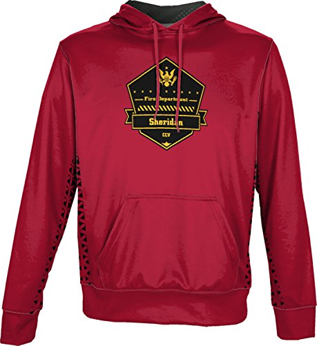 Price comparison product image ProSphere Boys' Cane Creek Volunteer Fire Department Geometric Pullover Hoodie