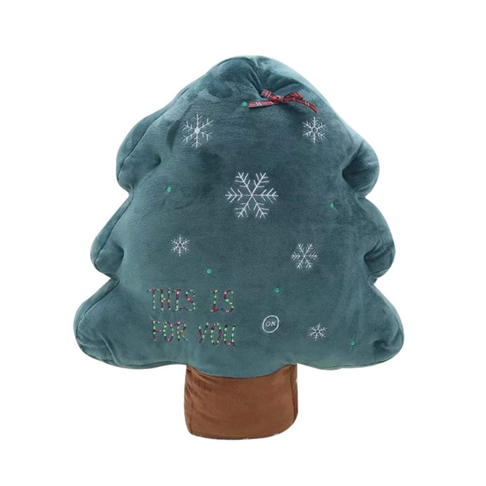 LLIND New Christmas Tree Plush Toy Christmas Creative Decoration Gift,Christmas Plush Tree,Kids Toy,Christmas Desktop Bed Decoration (Multicolor C) (Color : Multicolor a)