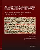 An East Syrian Manuscript of the Syriac 'Masora' Dated to 899 CE, Loopstra, Jonathan, 1463203918