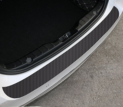 Rear Guard Bumper Protector Carbon Fiber Film Sticker For BMW X1 X 3 X5 X 6 E46 E39 E36 E60 E34 E90 E65 E70 For BENZ W211 W221 W220 W163 W164 W203