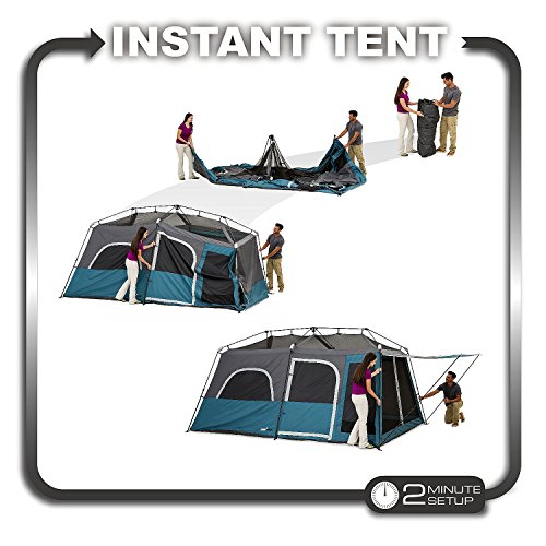 Campvalley 10-Person Instant Cabin Tent