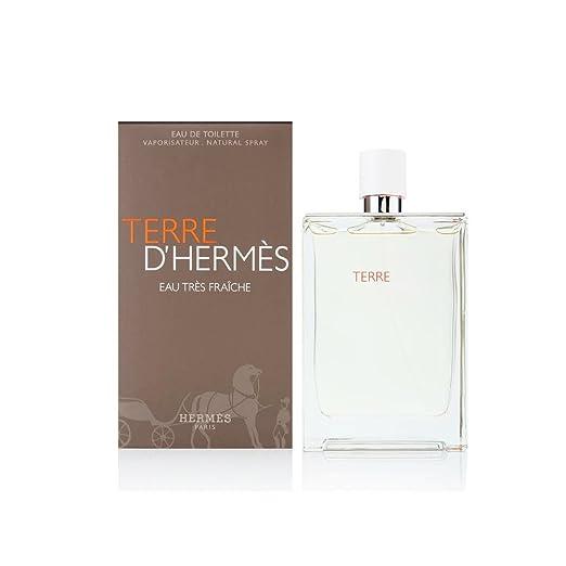 Amazon.com: Hermes Terre dHermes Eau Tres Fraiche Cologne, 2.5 Ounce: Beauty