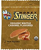 Honey Stinger Organic Waffle, Caramel Flavored, 1.06 Ounce (Pack of 16)