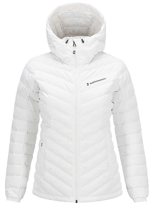 new product 58081 79446 Peak Performance - Piumino da donna, bianco, L: Amazon.it ...